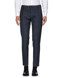 Hamptons Casual Pants Dark Blue