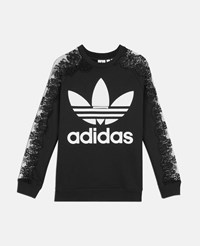 Stella Mccartney Black Adidas 3 Stripe Lace Jumper