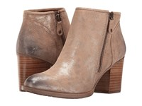 Sofft Wesley Anthracite Distressed Foil Suede Women's Boots Brown