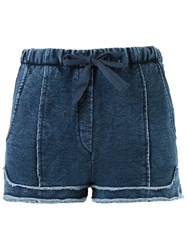 Giuliana Romanno Denim Short Blue