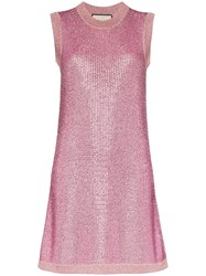 Gucci Strass Crystal Knit Tunic Dress 60