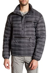 Hawke And Co. Pullover Puffer Jacket Gray