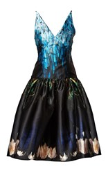 Romance Was Born Blue Bubble Princess Dress Black Blue Brown
