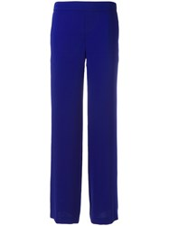 P.A.R.O.S.H. Straight Trousers Blue
