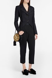 Hillier Bartley Women S Tux Stripe Jacket Boutique1 Black