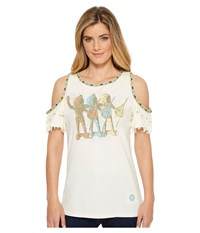 Double D Ranchwear Peace Makers Top String Clothing Neutral