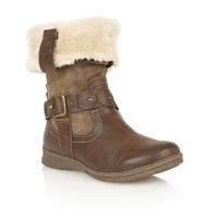 Lotus Roxana Ankle Boots Brown