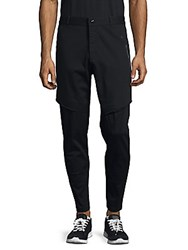 Puma Tapered Cotton Blend Pants Black