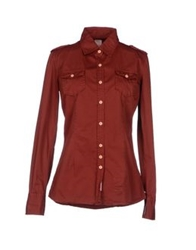 Authentic Original Vintage Style Shirts Maroon