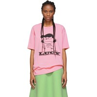 Marc Jacobs Pink Peanuts Edition Lucy T Shirt