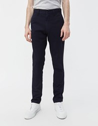 Norse Projects Aros Slim Light Stretch Pant In Dark Navy