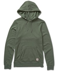 Element Men's Cornell Over Dyed Cotton Hoodie Green
