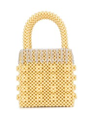 Shrimps Huckleberry Faux Pearl Tote Bag 60