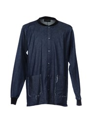 Primo Emporio Denim Shirts Blue