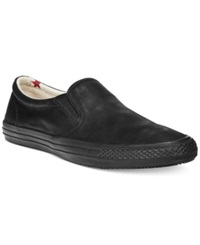 Denim And Supply Ralph Lauren Reave Leather Slip On Sneakers