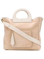 Max Mara Reversible Shopper Tote Neutrals