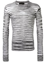Diesel Black Gold Striped Jumper Men Viscose Xl Black