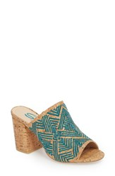 Sbicca Tania Mule Turquoise