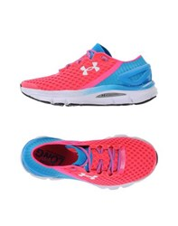 Under Armour Footwear Low Tops And Trainers Women Fuchsia