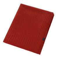 Zoeppritz Since 1828 Hot Cashmere Throw 110X150cm Orange