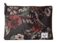 Herschel Network L Hawaiian Camo Wallet Black