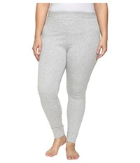 Ugg Plus Size Goldie Leggings Seal Heather Women's Casual Pants White