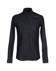 Hamaki Ho Denim Shirts Blue