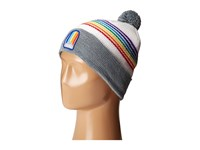 Coal The Odyssey Heather Grey Rainbow Knit Hats Gray