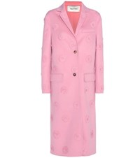 Valentino Wool Coat Pink