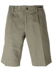 Pt01 Chino Shorts Green