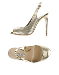 The Seller Footwear Sandals Women Platinum
