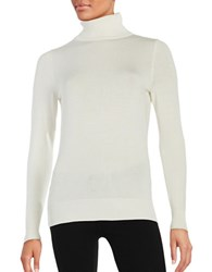 Context Long Sleeve Turtleneck Sweater Ivory Cameo