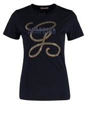 Gaastra Ginger Sea Print Tshirt Navy Dark Blue