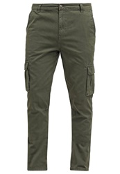 Your Turn Cargo Trousers Oliv