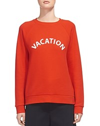 Whistles Vacation Sweatshirt Red