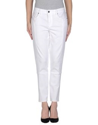 Genetic Denim Casual Pants White