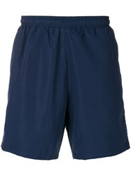 Hugo Boss Side Stripe Swim Shorts Blue