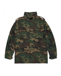 Yeezy Camo Print Canvas Jacket Green