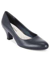 Easy Street Shoes Easy Street Fabulous Pumps Women's Shoes New Navy