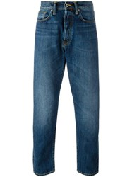 Edwin Tapered Jeans Blue
