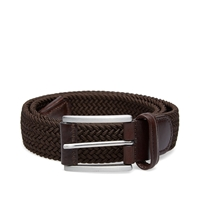 Andersons Anderson's Woven Textile Belt Chocolate