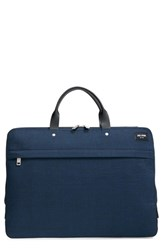 Men's Jack Spade 'Tech Oxford' Slim Laptop Briefcase Blue Navy