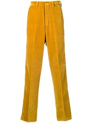 Kappa Side Branded Trousers Yellow And Orange