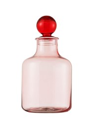 Normann Copenhagen 3.5L Glass Magic Jar Pink Red