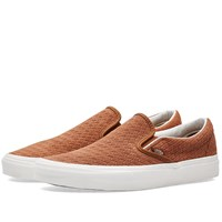 Vans Classic Slip On Brown