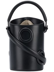 Boyy Structured Bucket Shoulder Bag Black