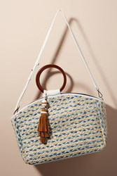 Anthropologie Gwendolyn Tote Bag Light Grey