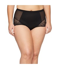 Spanx Plus Size Spotlight On Lace Brief Very Black Women's Underwear