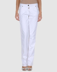 Naf Naf Casual Pants White