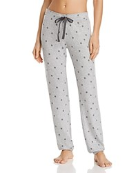 Pj Salvage Stars Jogger Pants Heather Gray